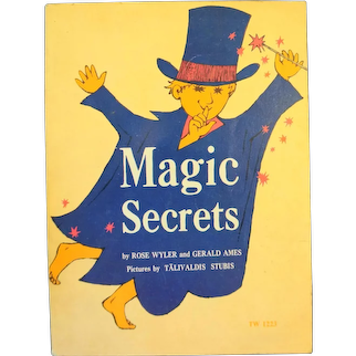 Magic Secrets by Rose Wyler 1974 10th Printing Paperback