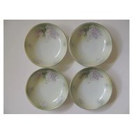 4 Berry Bowls  2 Marked RS Germany