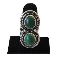 Native American Navajo Malachite Ring
