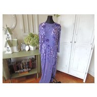 Sequin Dress With Beading
