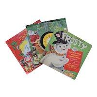 1950s Peter Pan Children's Christmas Records