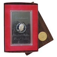 1971 Brown Ike Eisenhower Dollar Proof