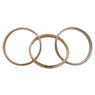 Trinity Ring by Benchmark 14 Karat Gold
