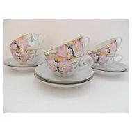Noritake Azalea Cups & Saucers