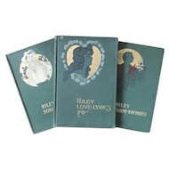 3 Volume Set James Whitcomb Riley