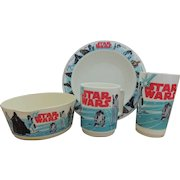 1977 deka Star Wars Dinner Set
