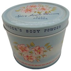 Lander Distributor Advertising Powder Tin Spicy Apple Blossom