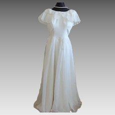 Vintage Kay Selig Tulle Wedding Dress