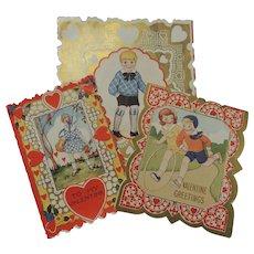 3 Vintage Valentines