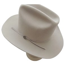 Langenberg Western Hat Beaver Hat Companu
