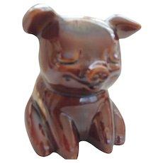 Hull Pottery Pig Bank