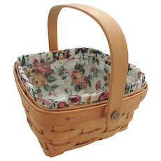 Longaberger Berry Basket