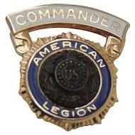 14K Gold American Legion Pin