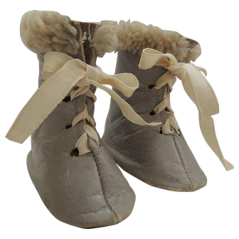 Vintage Doll Shoes/Boots