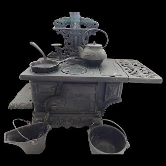 Vintage Cast Iron Toy Stove