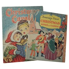 Vintage Christmas Carols Music Books