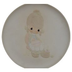 Precious Moments Mother Sew Dear Plate