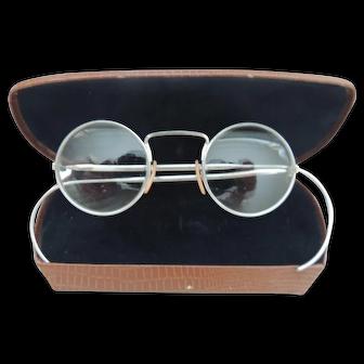 Vintage Eye Glasses With Round Lenses