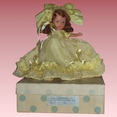 Nancy Ann Story Book Bisque Doll MIB Nursery Rhyme Series