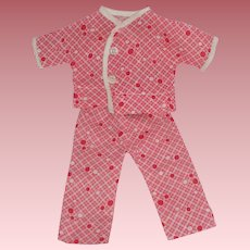 """Arranbee 12"""" Original PJ's for your Nancy Ann Doll - Never Played With"""
