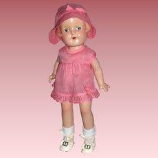 "1920-30's Arranbee Nancy 12"" Toddler Doll A/O"