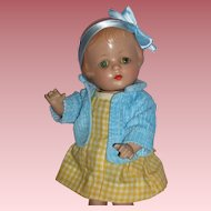 """Darling 1920's 12"""" Composition Bab's Made By Horsman"""