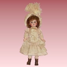 Limited Sale on Cabinet Size 6 Tete Jumeau in Couture Costume