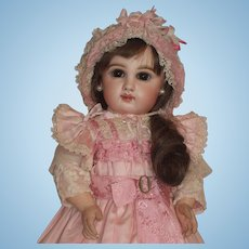 Rare & Stunning 6 DEPOSE Tete Jumeau Doll in Original Costume w/Trunk