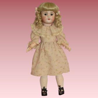 "Sweet 22"" Simon & Halbig Child Doll M550 in Darling Pink Dress!"