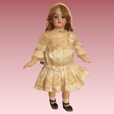 "23"" Simon & Halbig Doll- M#1078 - On French Walker Body with Key!"