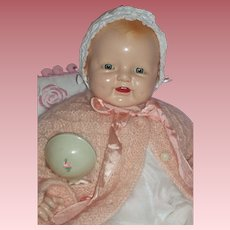 Happy Baby Dimples Doll - c1929 Made by E.I Horsman