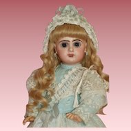 So sweet, Size 7 Open Mouth Tete Jumeau Doll
