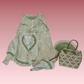 Wonderful Vintage Doll 6-piece Outfit for Lady or Fashion Doll