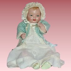 "Wonderful 1924 18"" Baby Bubbles Doll by Effanbee"