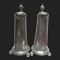 18th Century Austro-Hungarian Pewter Flagon Tankard Pitchers