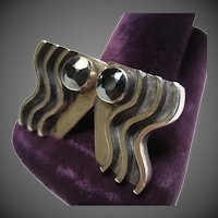 Mid Century Sterling Silver Earrings by Everett MacDonald Laguna Beach California