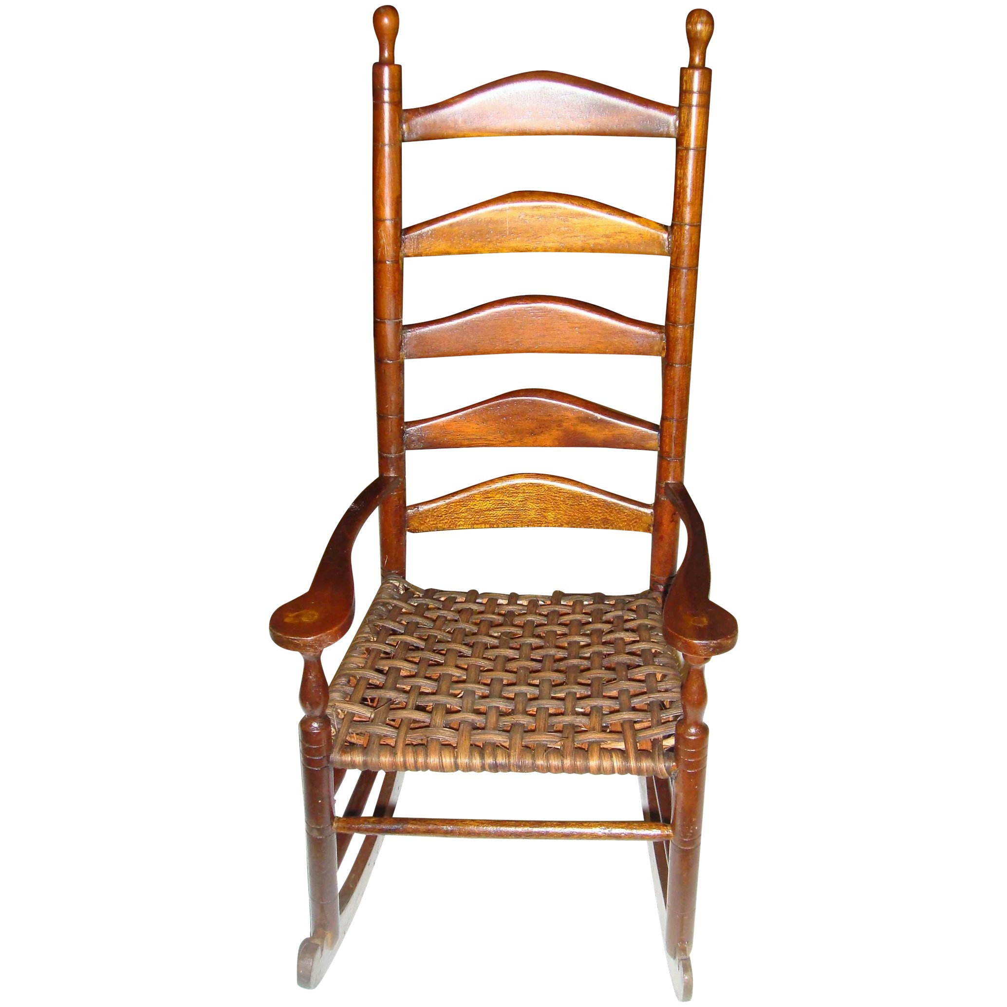 Tall Back Rocking Chair For Doll