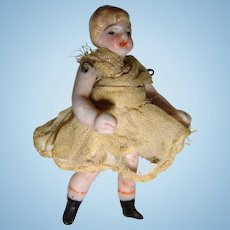 Cute tiny Hertwig doll in original clothes