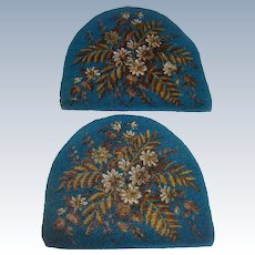 Beautiful bead work tea cosy panels