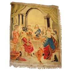 Early tapestry of Last Supper