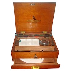 Reeves 19th century water color paint box
