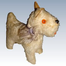 Cute little old dog for a doll