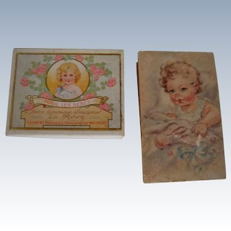 Pair soap and gift boxes for bebe