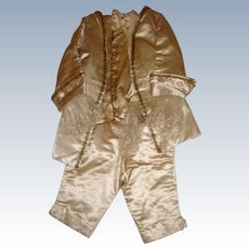 Stunning 3 piece silk boys outfit