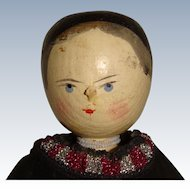 Wooden peg  doll nicely dressed