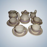 Miniature tea set for FF doll or dolls house