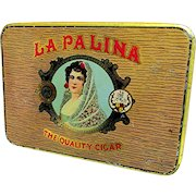 La Palina Cigar Advertising Pocket Tin