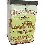 Niles and Moser Advertising Cigar Tin