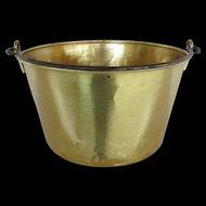 Brass Kettle, Pail, Bucket or Pot by Haydens