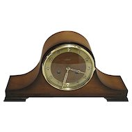 Key Wound Mantle Clock Runs And Keeps Time